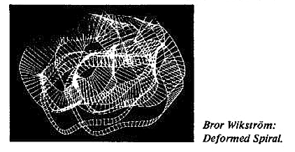 Deformed Spiral, 360 hologram Bror Wikstrom initiated by Ture Sjolander Bror Wikstrom 1975. More interesting than the visual draft  and illustration of the DNA...
